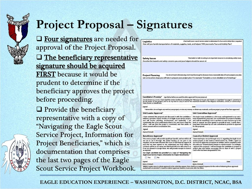 Workbooks eagle scout workbook download : The Eagle Project Part 2: Project Proposal and Project Final Plan ...