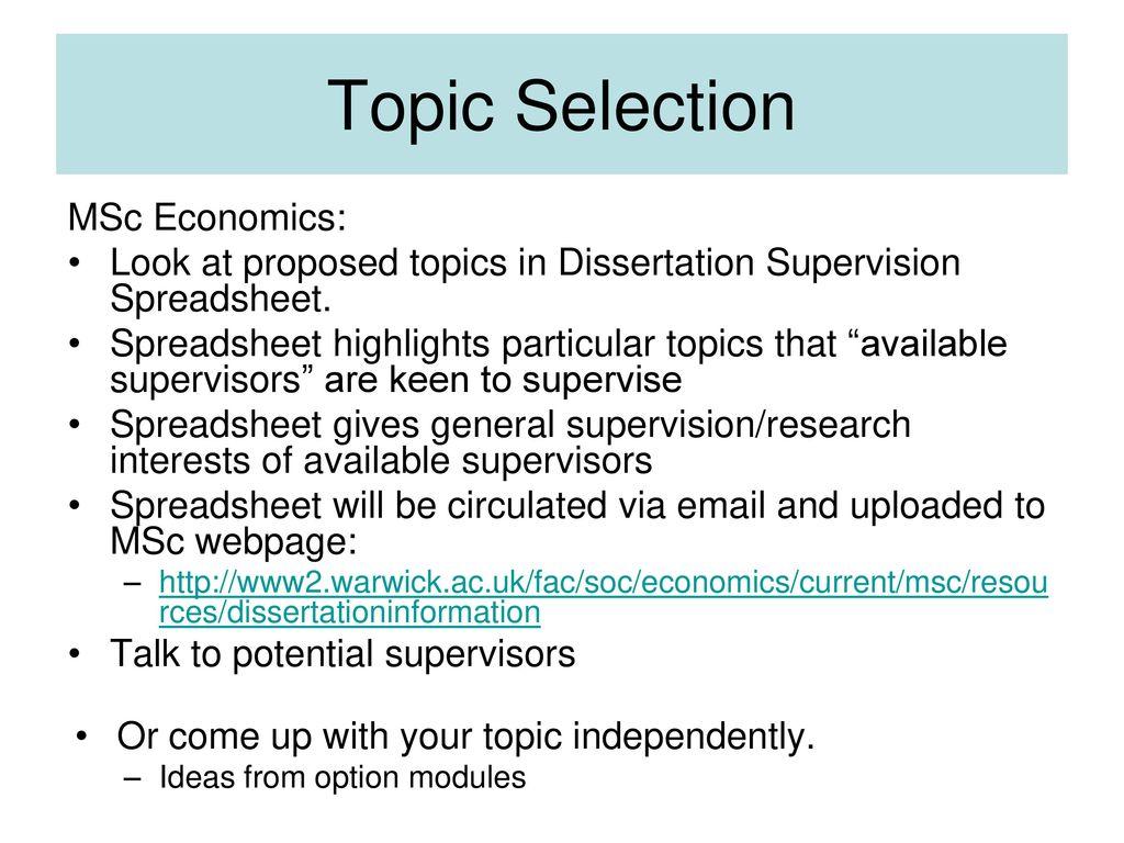 msc dissertation format uk
