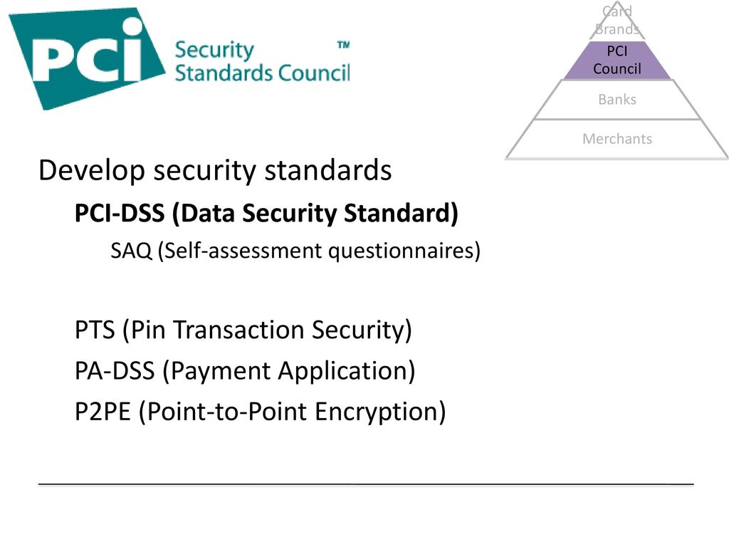 Credit Card Compliance Ppt Download Data Security Standards Develop