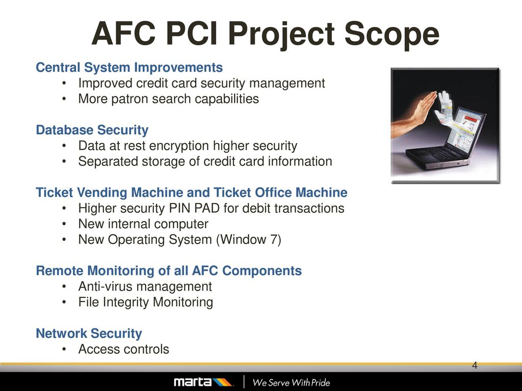 MARTA's Road to PCI Compliance - ppt download
