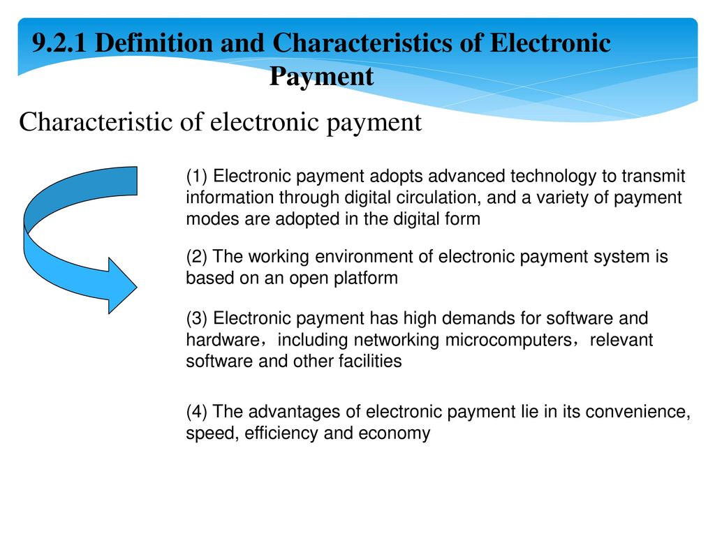 Chapter 6 Electronic payment - ppt download
