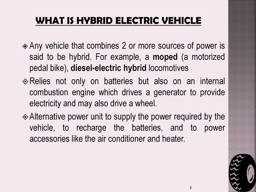 What Is Hybrid Electric Vehicle