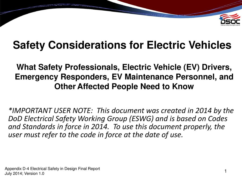 Safety Considerations For Electric Vehicles Ppt Download Dod Wiring Diagram Standard 1