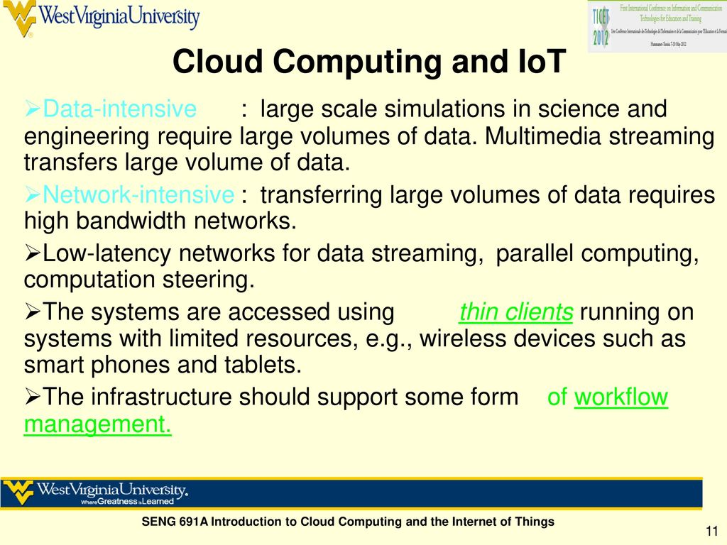 Cloud Computing & The Internet of Things - ppt download