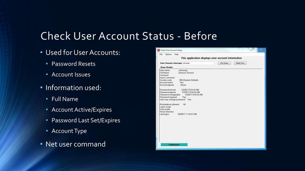 Net user password last set | PowerShell: How to find out
