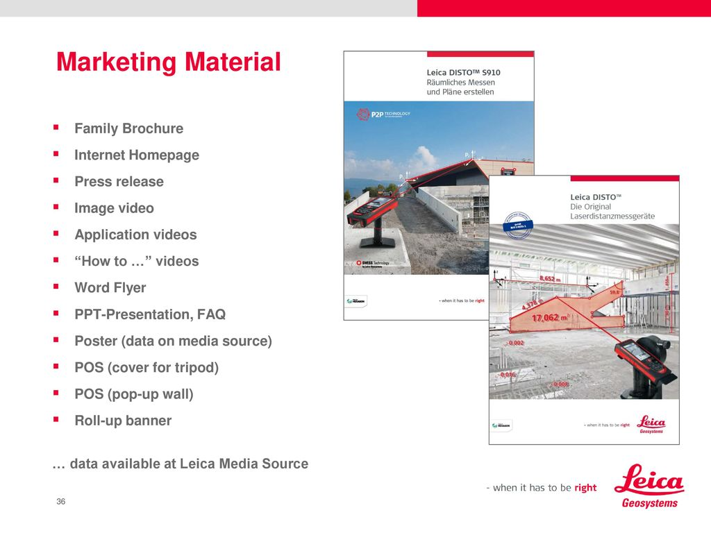 Leica DISTO™ S910 Measuring anything from anywhere - ppt download
