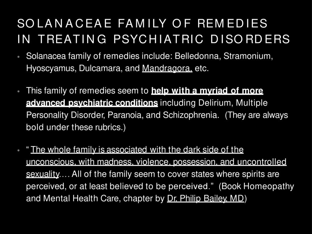 HOMEO PATHY  IN  THE  TREATMENT  OF  PSYCHIATRIC  AND PSYCHOLOGICAL