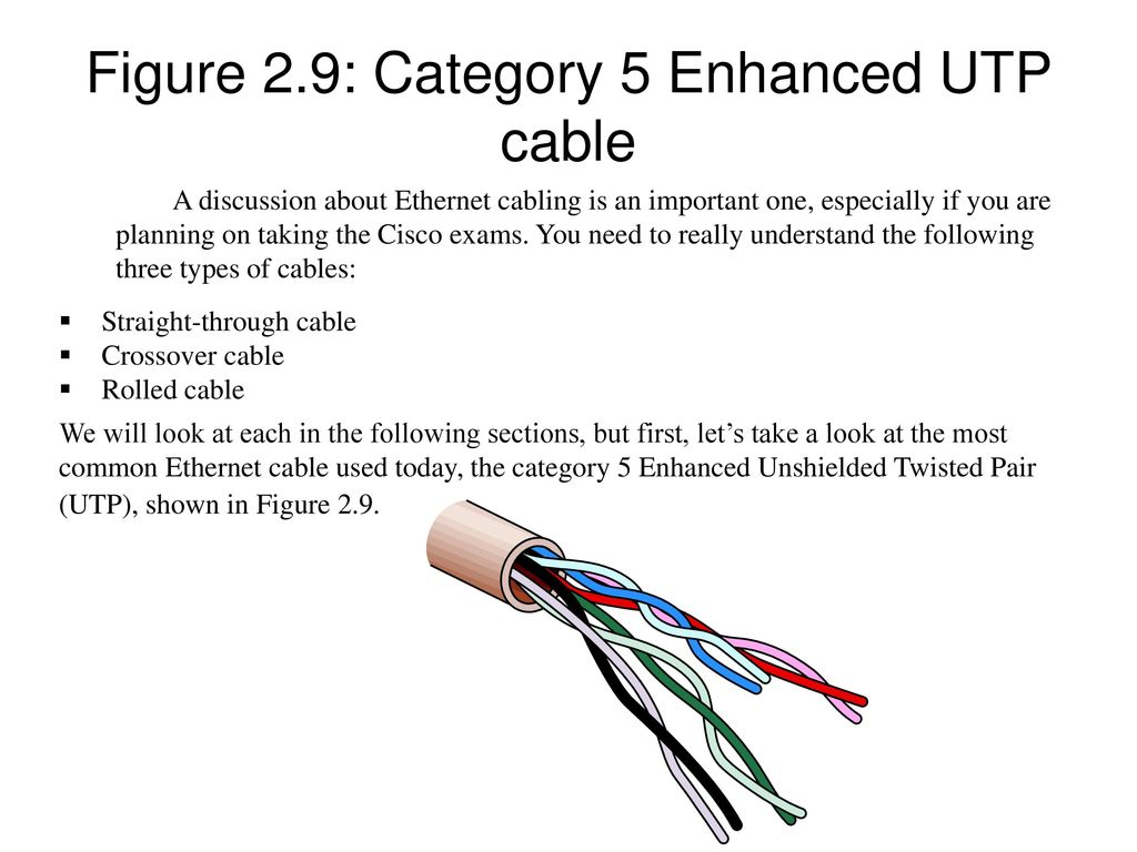 Instructor Todd Lammle Ppt Video Online Download Figure 4 Wiring Diagram For An Ethernet Crossover Cable 11 29 Category 5 Enhanced Utp