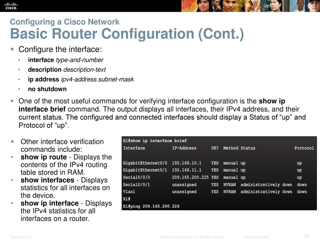 Instructor Materials Chapter 8 Configuring Cisco Devices
