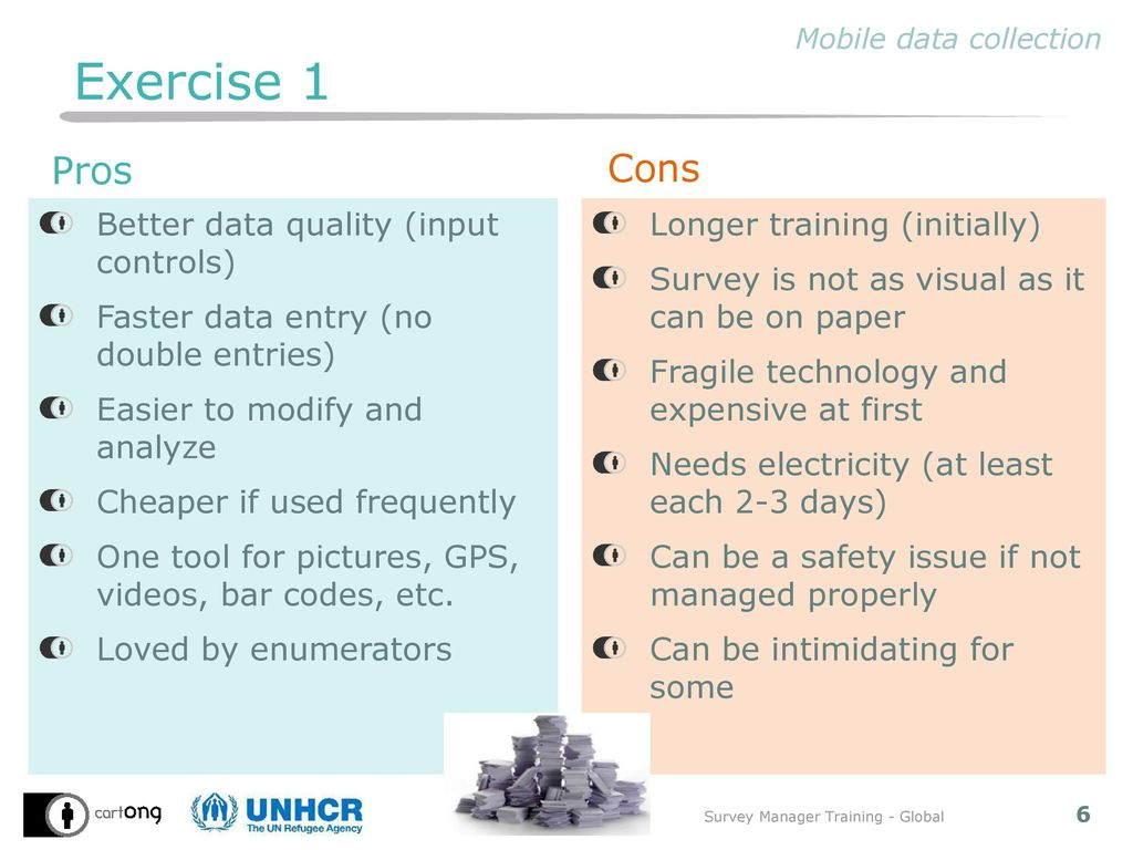 Mobile data collection (MDC) with OpenDataKit - ppt download