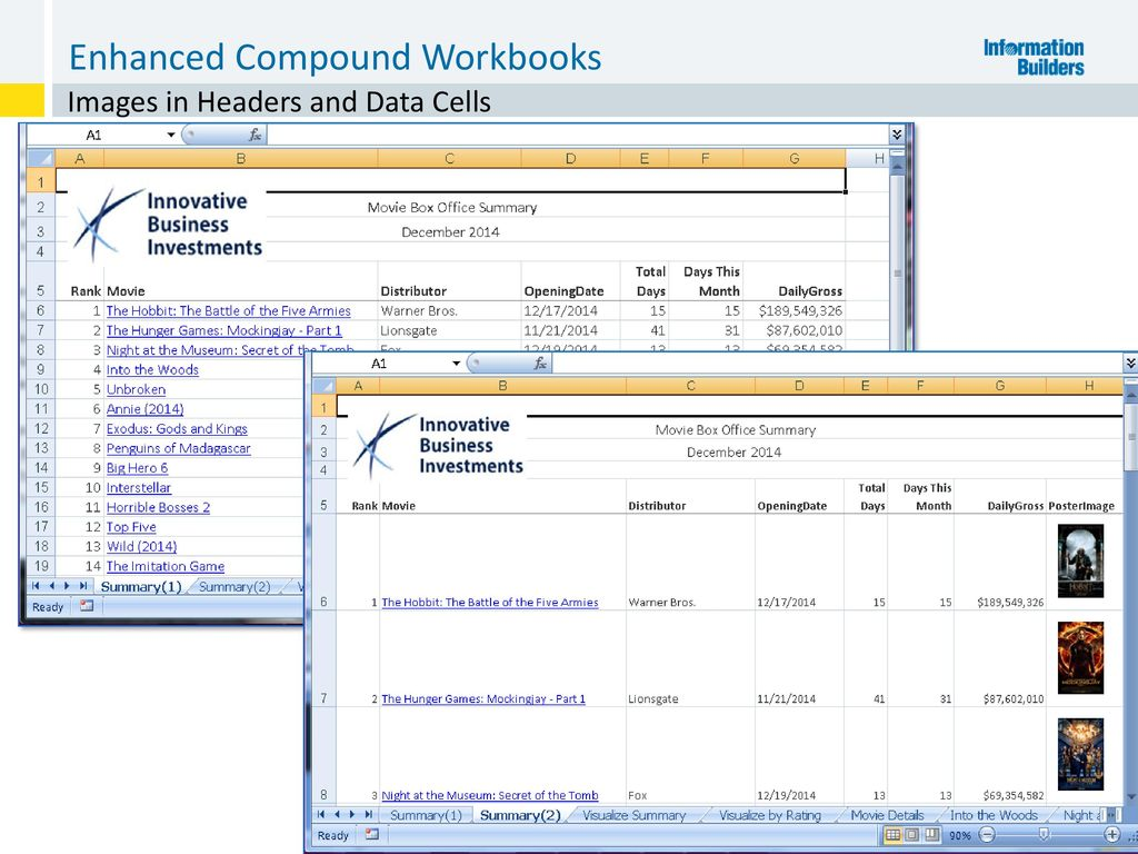 Workbooks workbook definition computer : WebFOCUS and Microsoft® Office: Working Together - ppt download