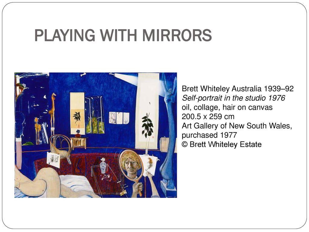 brett whiteley self portrait