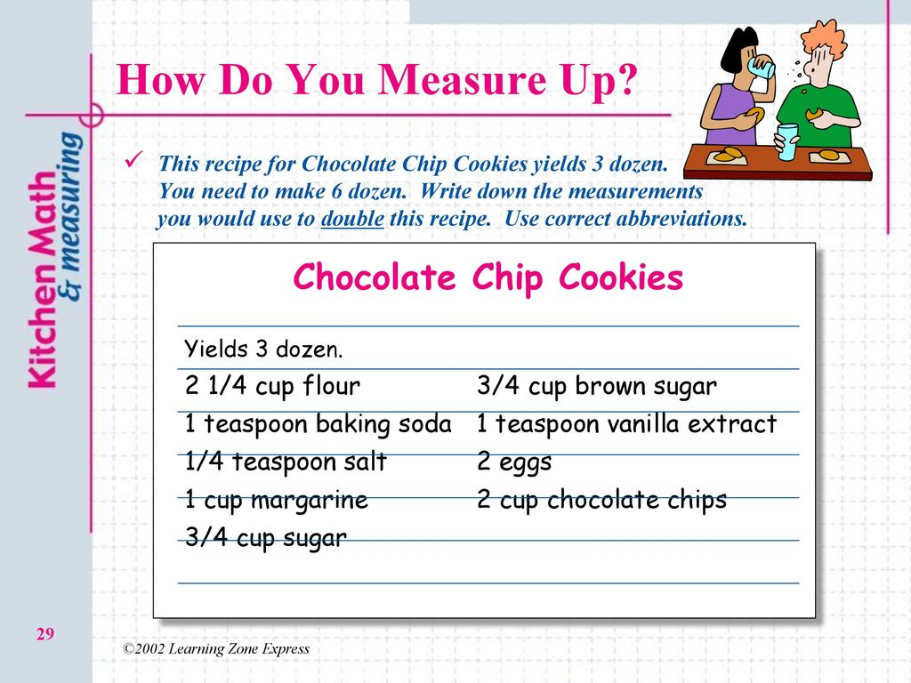 2.03 O Kitchen Math and Measuring - ppt download