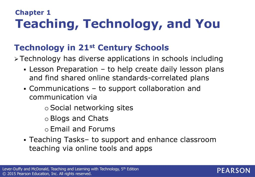 Teaching and Learning with Technology - ppt download