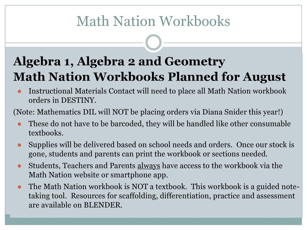 Workbooks » Algebra Workbooks - Free Printable Worksheets for Pre ...