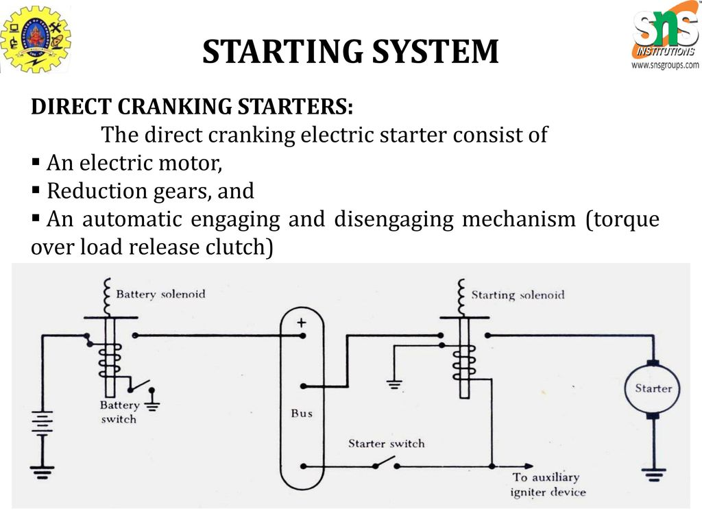 Fine Diesel Engine Electrical System Composition - Electrical ...