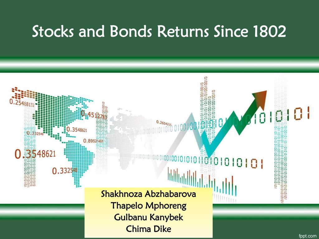 Stocks and Bonds Returns Since 1802