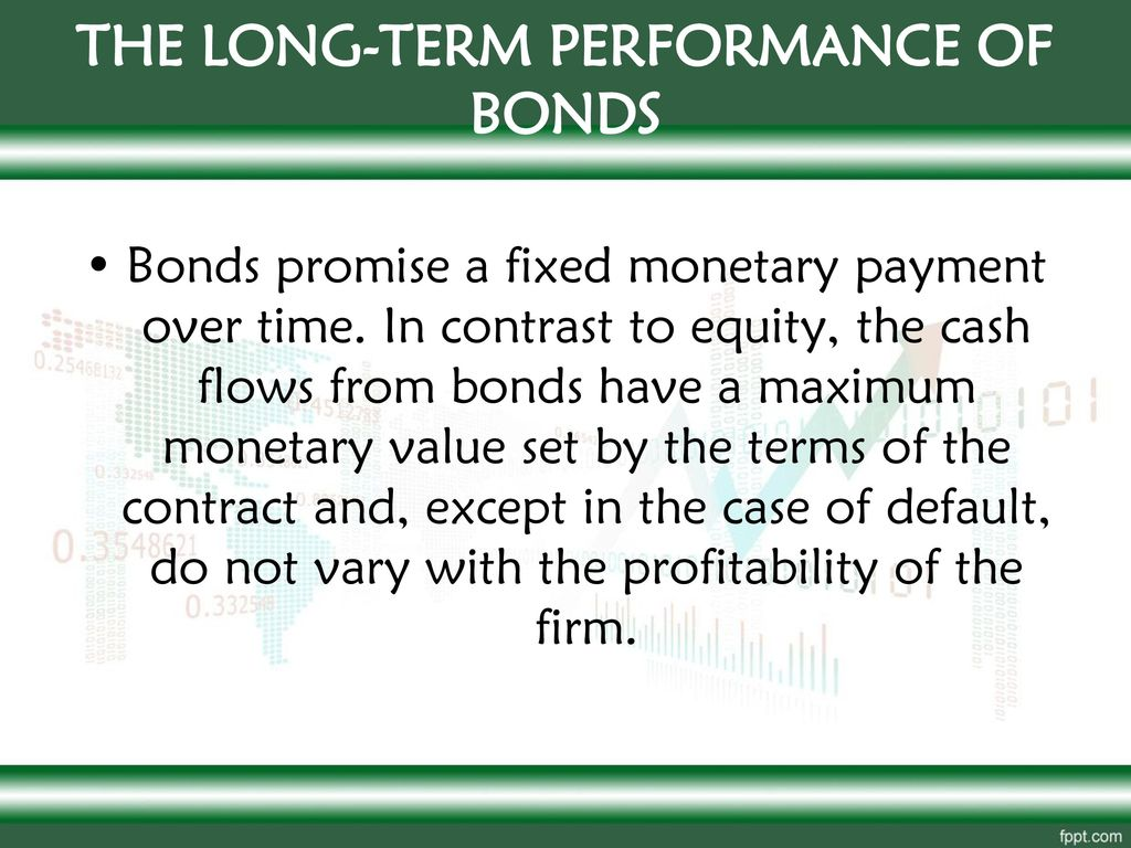 THE LONG-TERM PERFORMANCE OF BONDS