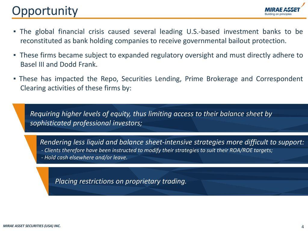 Mirae Asset Securities (USA) Inc  - ppt video online download