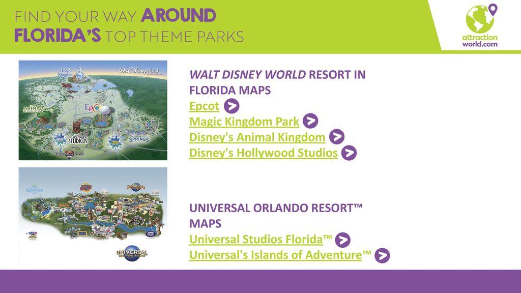 Animal Kingdom Florida Map.Destination Training Guides Ppt Download
