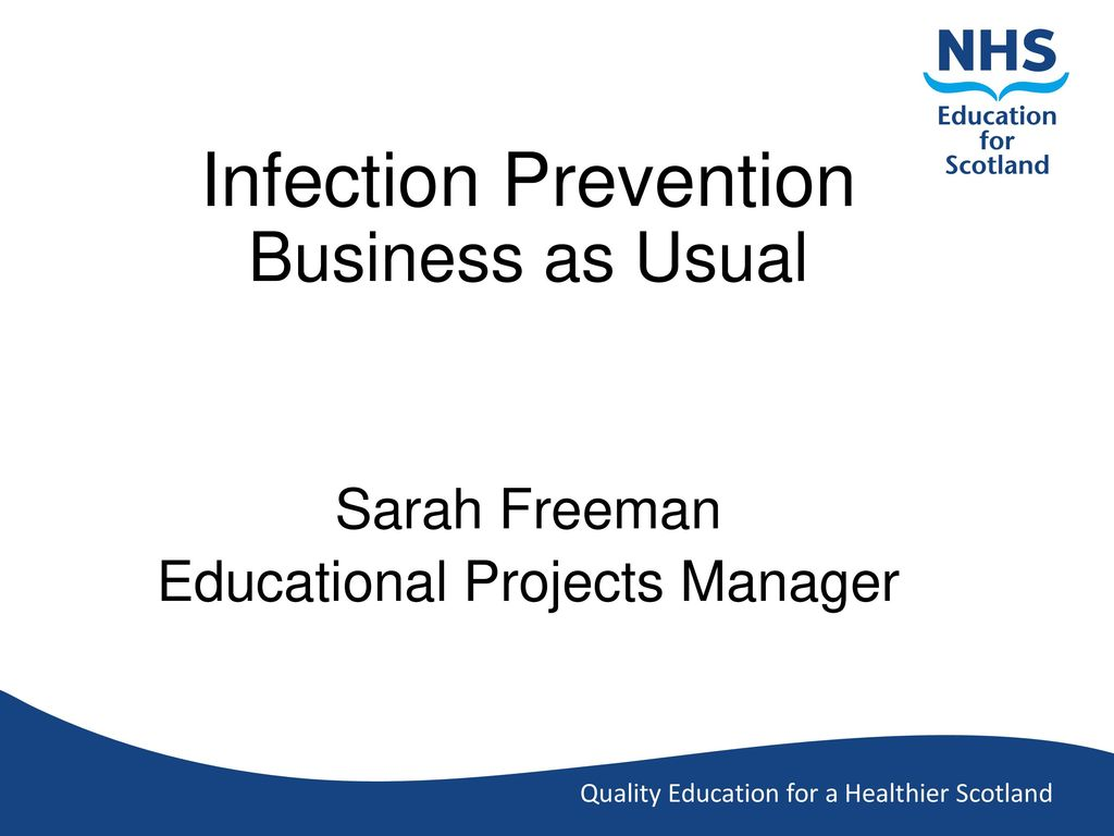 Workbooks infection control workbook : Infection Prevention Business as Usual - ppt video online download