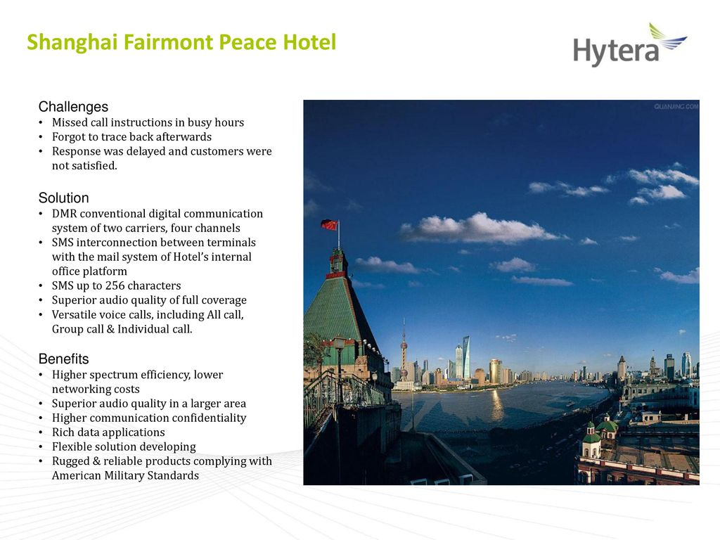 Hytera DMR conventional repeater solution introduction - ppt video