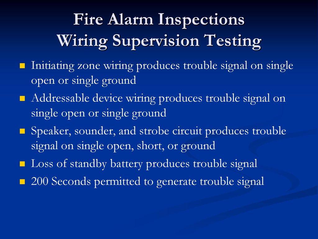 Fire Alarm System Design & Inspection   ppt download