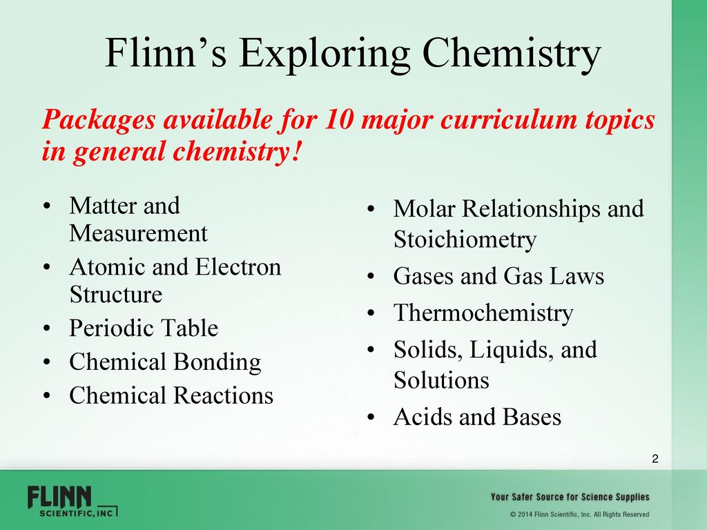 2 Flinnu0027s Exploring Chemistry