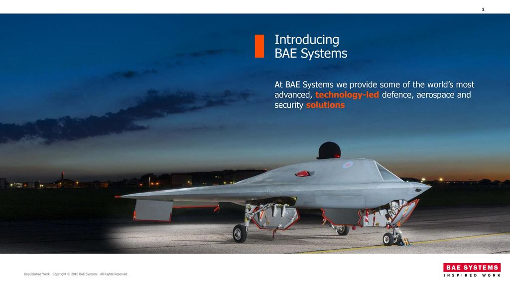 Introducing BAE Systems