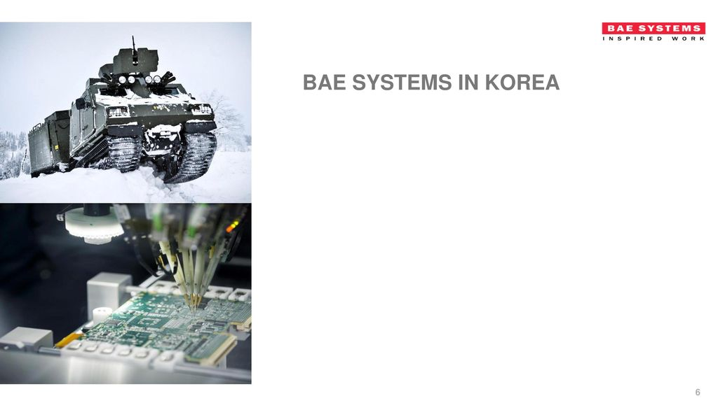 BAE Systems in Korea