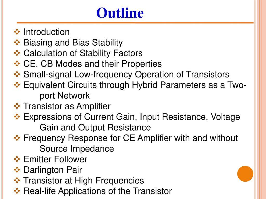 Bjt Circuits Chapter 5 Drdebashis De Associate Professor Ppt Npn Transistor Darlington Configuration 2 Outline Introduction