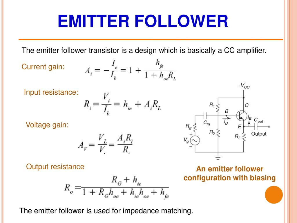 Bjt Circuits Chapter 5 Drdebashis De Associate Professor Ppt Emitter Follower Circuit An Configuration With Biasing