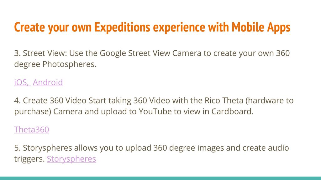Creating Google Expeditions - ppt video online download