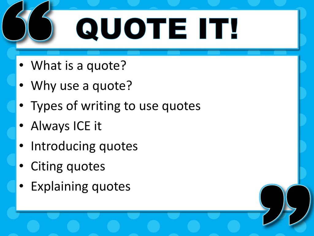What is a quote 90