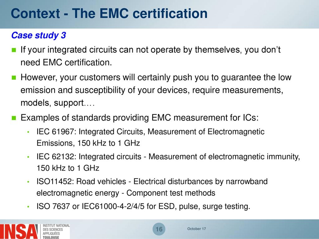 Emc Measurements Of Electronic Components Ppt Download