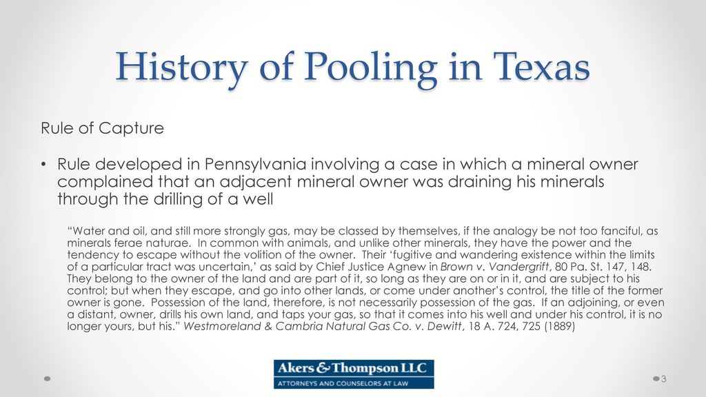 Pooling In Texas Production Sharing Agreements And Allocation Wells