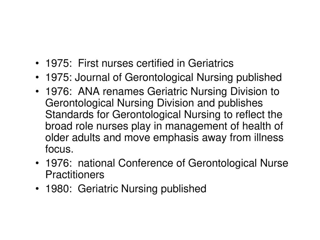 Gerontologic Nursing Certification Review Course Ppt Download