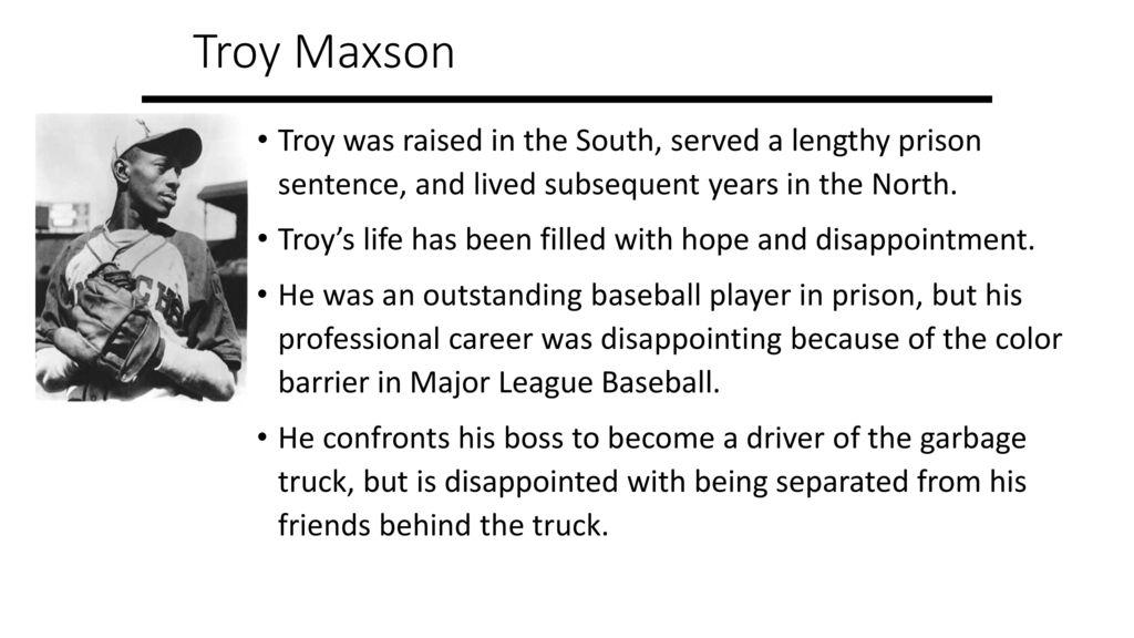 troy maxson character analysis