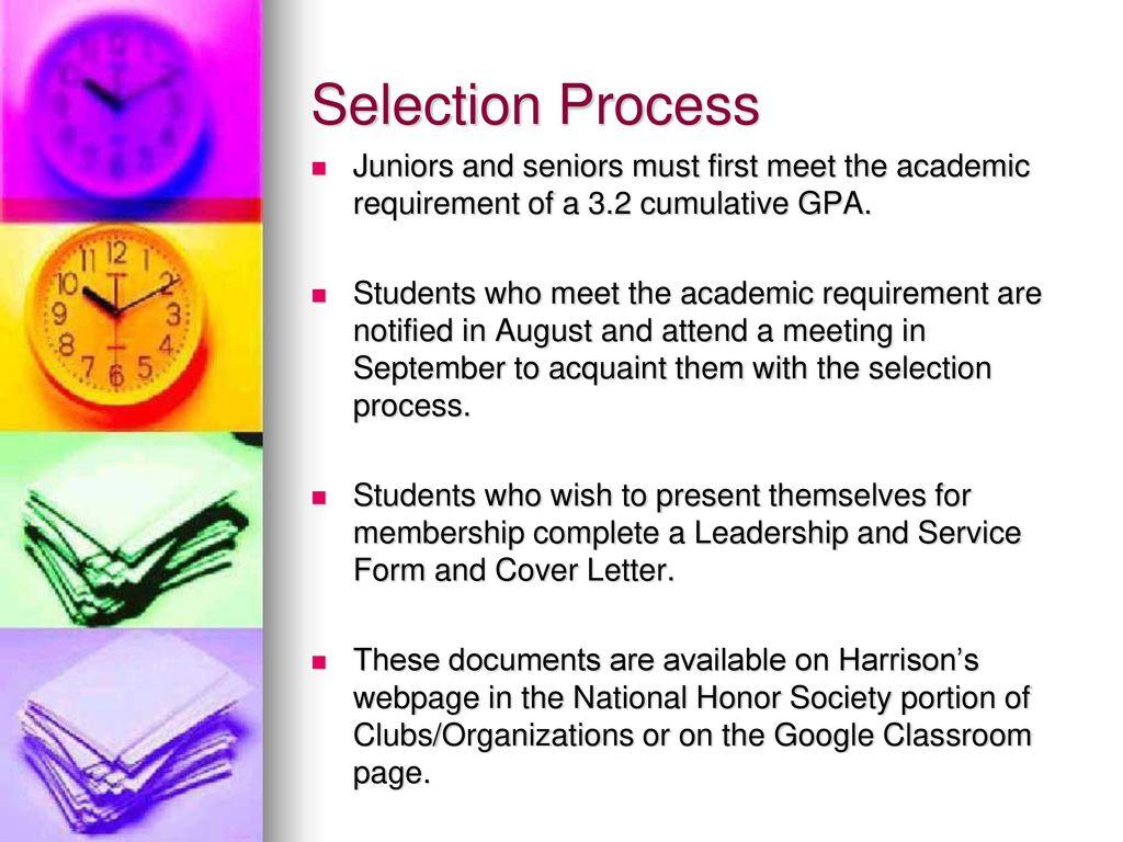 selection process of google