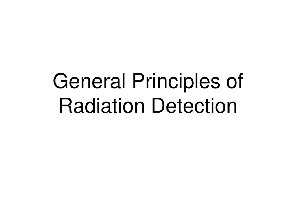 Radiation Detection Instrumentation Fundamentals Ppt Download Detector Operation Circuit And Specific