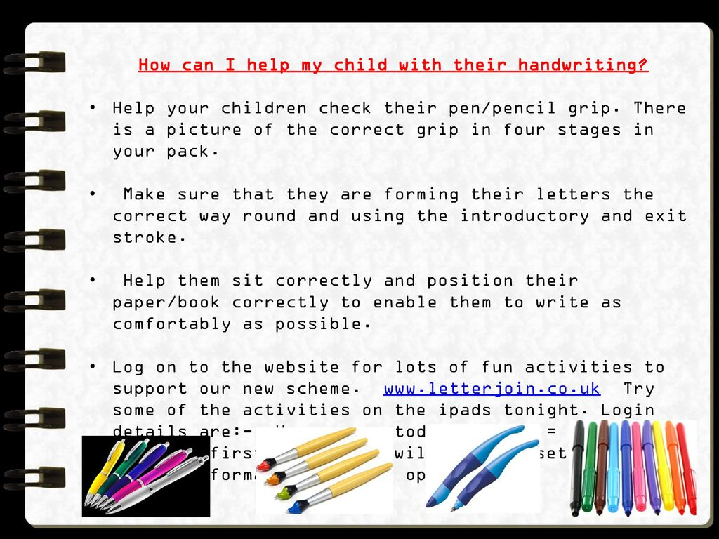 Todmorden CE (A) J I & N School Handwriting Session for