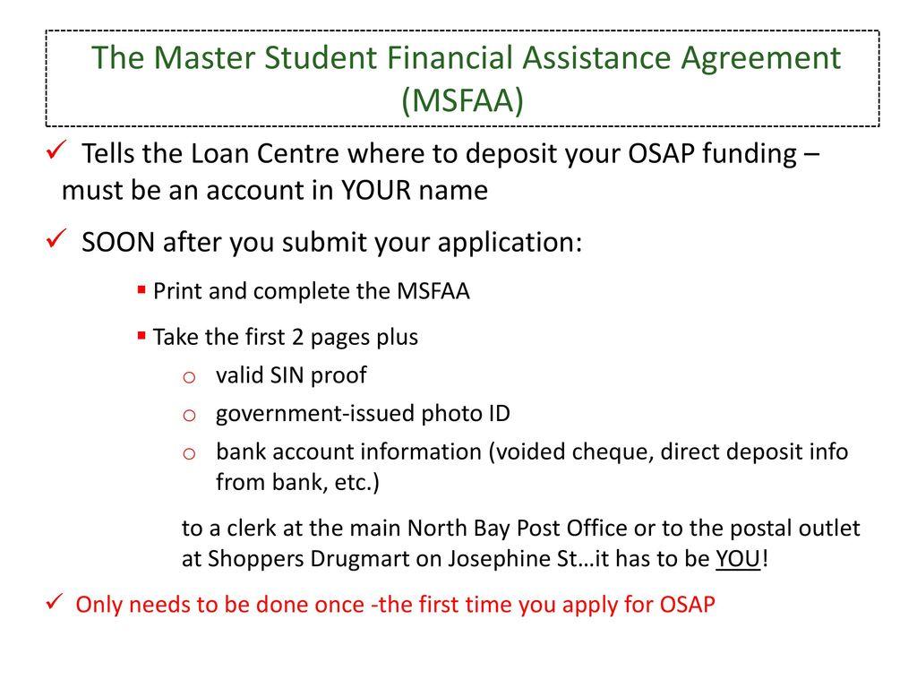 Ontario Student Assistance Program Ppt Download