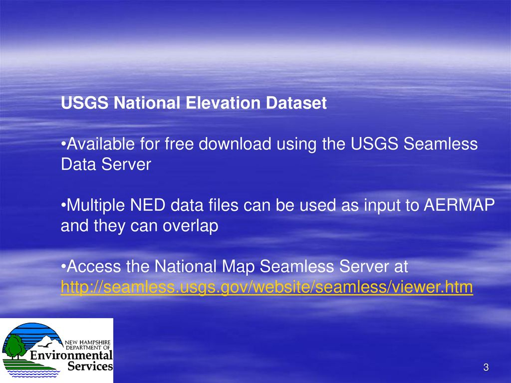 Test Runs Using AERMAP Version and - ppt download