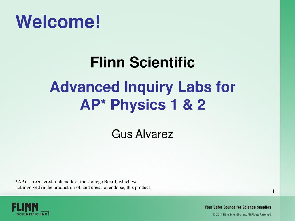 Flinn Scientific Advanced Inquiry Labs For Ppt Download Simple Circuit Making Activity And