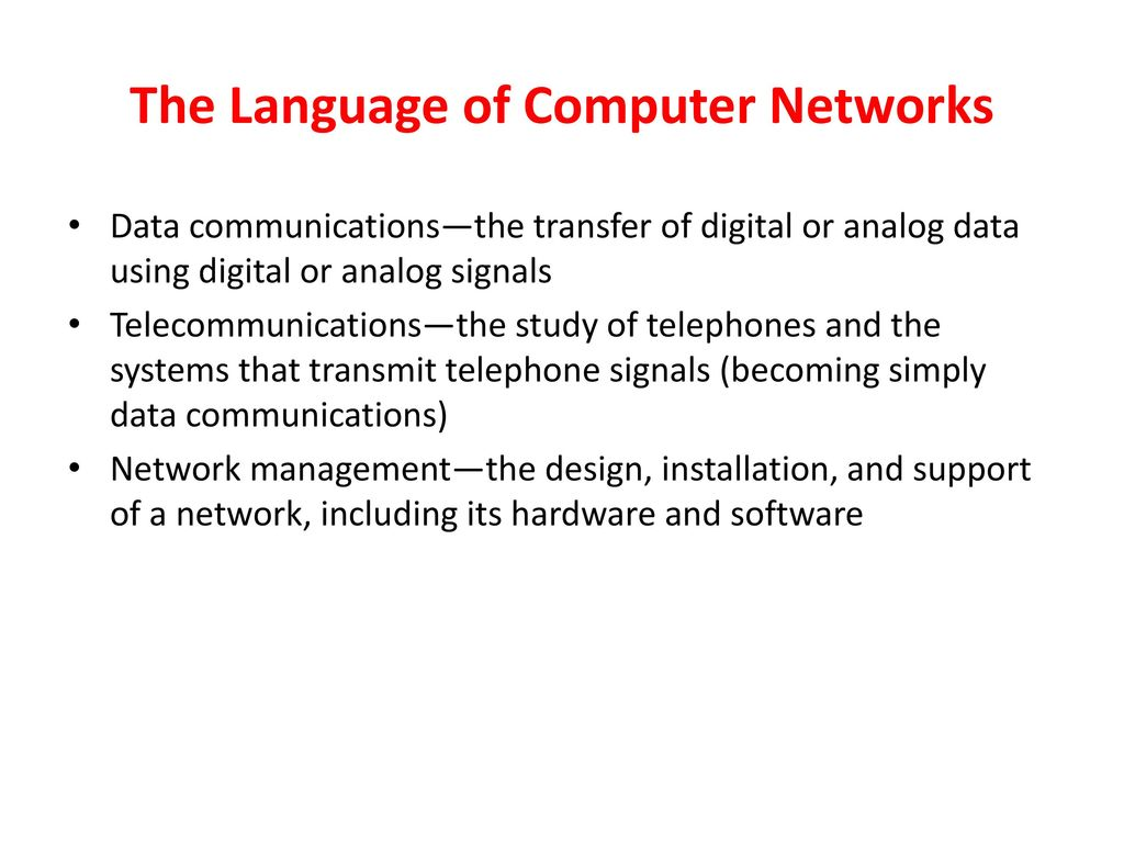 Data Communications And Computer Networks Ppt Download Analog Signal Transmission Over Telephone Lines 8 The