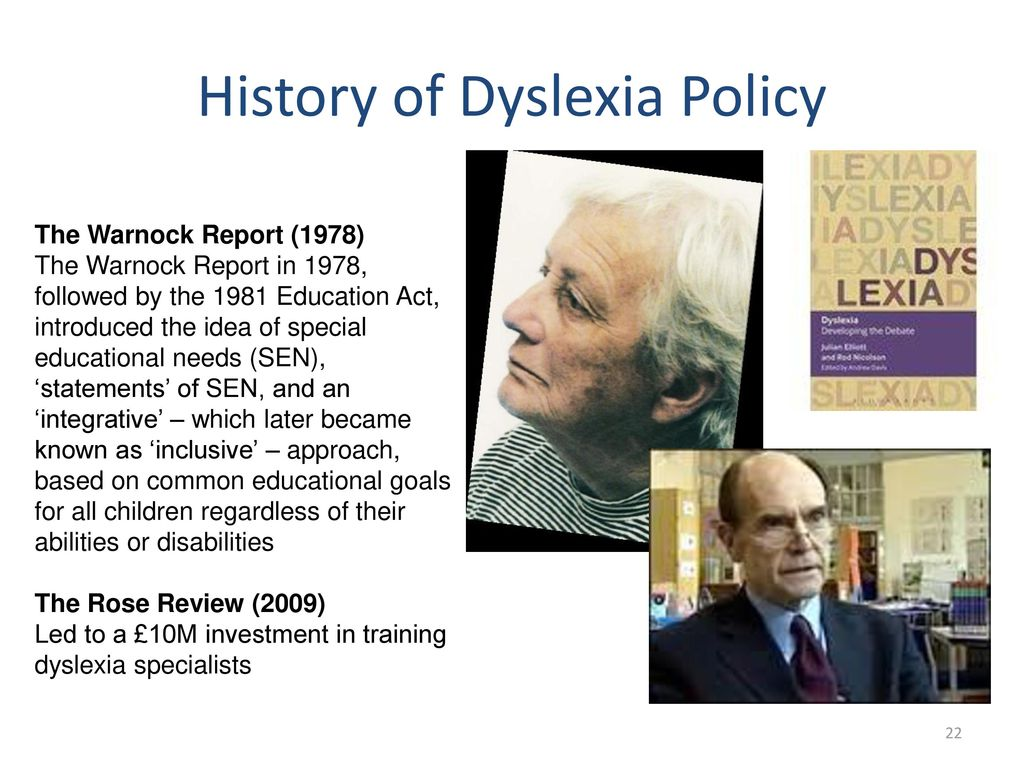 The History Of Dyslexia >> Introducing A New Project In The History Of Dyslexia Ppt Download