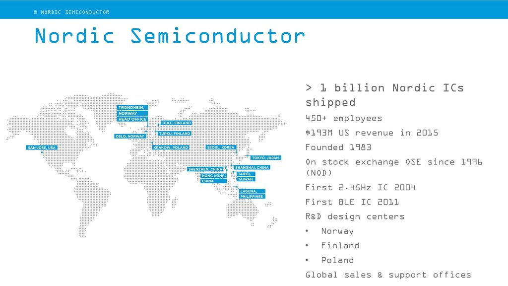 Nordic Semiconductor - Workshop ppt video online download