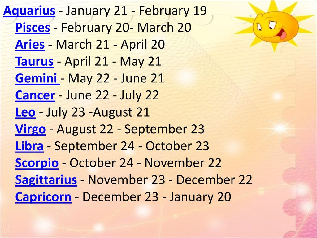 Star Signs Ppt Video Online Download