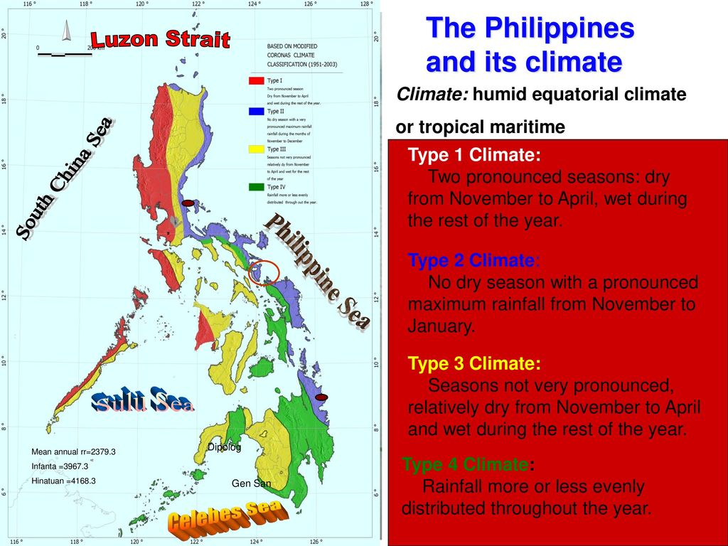 Climate Map Of The Philippines Pagasa G O O D D A Y Climate Information in Sorsogon PAGASA DOST   ppt