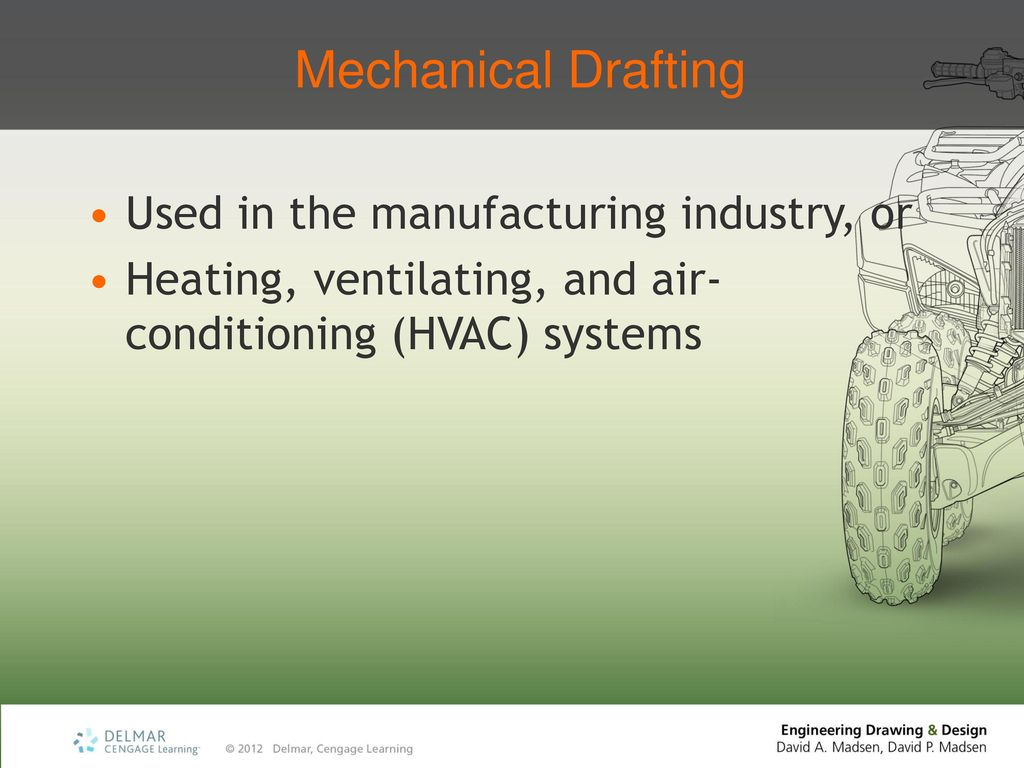 Chapter 1 Introduction To Engineering Drawing And Design Ppt Download Hvac Conventions Mechanical Drafting Used In The Manufacturing Industry Or
